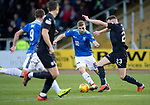 Dundee v St Johnstone&hellip;29.12.18&hellip;   Dens Park    SPFL<br />David Wotherspoon and Andrew Boyle<br />Picture by Graeme Hart. <br />Copyright Perthshire Picture Agency<br />Tel: 01738 623350  Mobile: 07990 594431