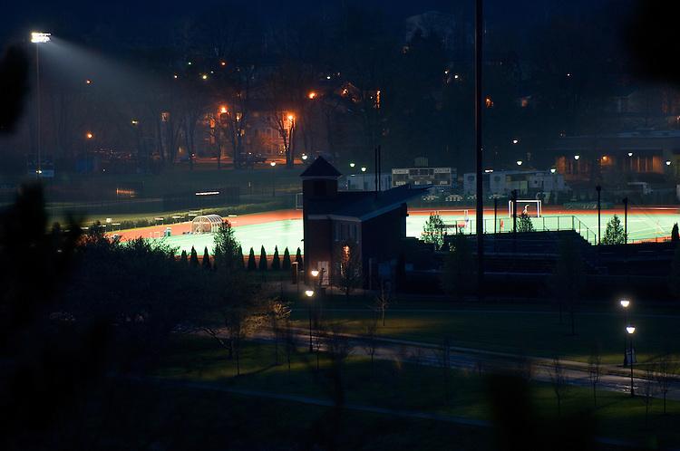 18143Night Shots of Campus