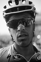 111th Paris-Roubaix 2013..Iljo Keisse (BEL) post-race face.