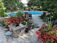 Beautiful Yards <br /> <br /> Bill Miller 2617 Westgate Cres.  Brights Grove. <br /> <br /> Our yard has been a work in progress for the last ten years. Both my wife and I enjoy planting and watching the beautiful plant creations take shape during the growing season. During the spring, summer and fall months the garden is an ever changing scene which is a refuge from the hustle and bustle of every day life. We especially enjoy the beauty of the many flowers that come into bloom at the various times during the season.<br /> Bill Miller