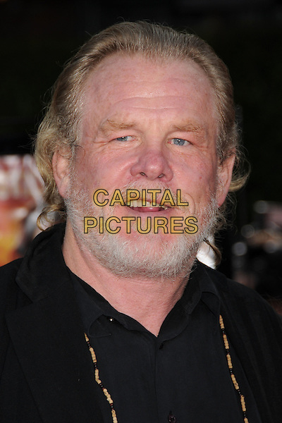 "NICK NOLTE.""Tropic Thunder"" Los Angeles Premiere at Mann's Village Theatre, Westwood, California, USA..August 11th, 2008.headshot portrait beard facial hair .CAP/ADM/BP.©Byron Purvis/AdMedia/Capital Pictures."