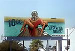 10CC billboard on the Sunset Strip circa 1977