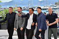 CANNES, FRANCE. May 14, 2019: Pawel Pawlikowski, Yorgos Lanthimos , Alejandro Gonzalez Inarritu, Enki Bilal &amp; Robin Campillo at the photocall for Jury at the 72nd Festival de Cannes.<br /> Picture: Paul Smith / Featureflash