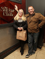 04/06/14<br /> (No Fee pixs) Rhona and Shaune Boland arriving to the Stella Bass Album Launch &ldquo;TOO DARN HOT&rdquo; which took place in the Sugar Club Co Dublin this evening&hellip;<br /> Pic Collins  Photos