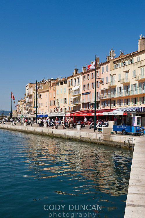 Waterfront, Saint Tropez, France