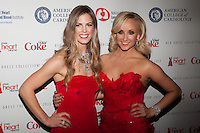 NEW YORK, NY - FEBRUARY 6: Torah Bright in Nicole Miller and  Nastia Liukin in Reem Acra attend The Heart Truth Red Dress Collection 2013 Fashion Show on February 6, 2013 in New York City. © Diego Corredor/MediaPunch Inc. ... /NortePhoto