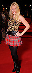 Audrey Collins on the red carpet at Fashion Houston at the Wortham Theater Wednesday Nov.13,2013.  (Dave Rossman photo)