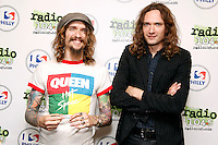 PHILADELPHIA, PA - AUGUST 2: The Darkness visit Radio 104.5's iheart Radio Performance Theater in Bala Cynwyd, Pa on August 2, 2012&nbsp; &copy; Star Shooter / MediaPunch Inc. /NortePhoto.com<br />