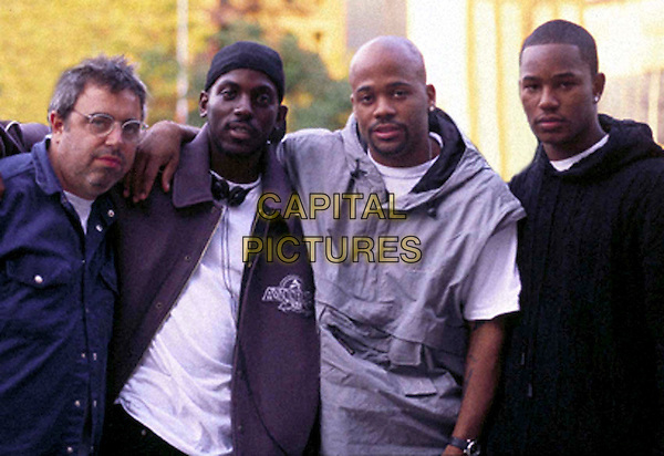 RON ROTHOLZ (EXECUTIVE PRODUCER), JAY BLACK, DAMON DASH & CAM'RON.in Paid in Full.Ref: FB.*Film Still - Editorial Use Only*.www.capitalpictures.com.sales@capitalpictures.com.Supplied by Capital Pictures