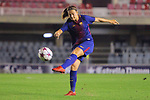 UEFA Women's Champions League 2017/2018.<br /> Round of 16.<br /> FC Barcelona vs Gintra Universitetas: 3-0.<br /> Alexia Putellas.