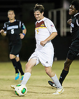 The Winthrop University Eagles beat the UNC Asheville Bulldogs 4-0 to clinch a spot in the Big South Championship tournament.  Mason Lavallet (9)