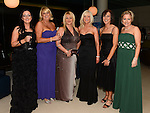 Lisa Rogers, Fiona Weir, Joanne Keily, Marion Heery, Dymphna Kiernan and Kim Lally pictured at the Fingal Harriers Hunt Ball held in the d hotel Drogheda. Photo:Colin Bell/pressphotos.ie