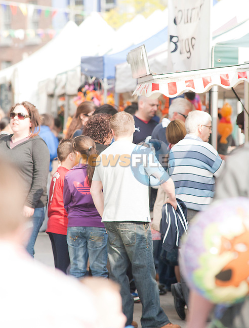 West Street was busy for the Arts Festival with market stalls and live entertainment..Picture: Shane Maguire / www.newsfile.ie.
