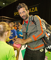 12-02-14, Netherlands,Rotterdam,Ahoy, ABNAMROWTT, Julian Knowle<br /> Photo:Tennisimages/Henk Koster