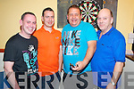 Enjoying the Inn Between Darts League on Saturday night were William Kelliher, Sean Moynihan, Richard O'Connor and John Cronin.......