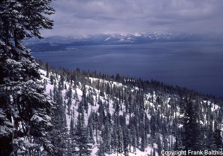 Homewood Ski Resort and Lake Tahoe