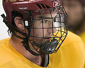 Brett Motherwell - The Boston College Eagles practiced on Wednesday, April 5, 2006, at the Bradley Center in Milwaukee, Wisconsin, in preparation for their 2006 Frozen Four Semi-Final game against the University of North Dakota.