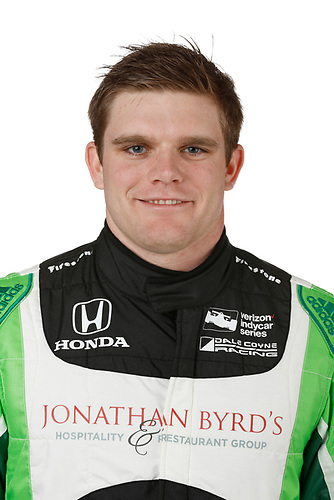 2 February, 2016, Indianapolis, Indiana USA<br /> Conor Daly<br /> &copy;2016, Michael L. Levitt<br /> LAT Photo USA