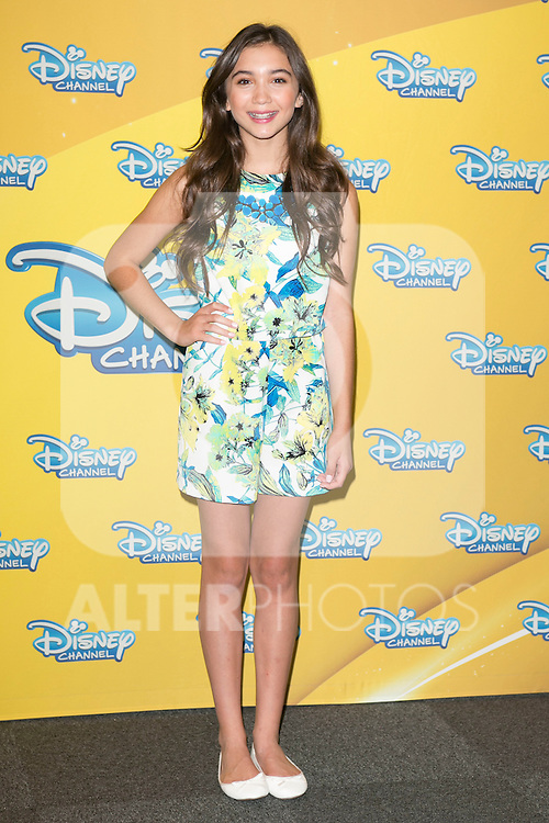 "Rowan Blanchard attend the presentation of the Disney Series ""Girl Meets World"" at the Me Hotel in Madrid, Spain. July 21, 2014. (ALTERPHOTOS/Carlos Dafonte)"