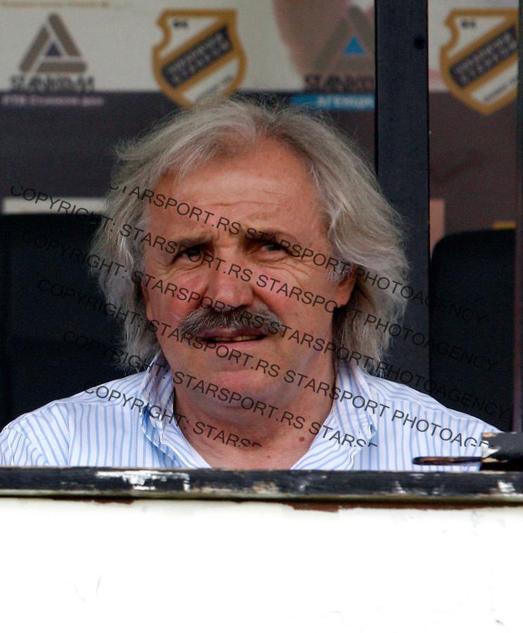 Fudbal, Meridijan super liga, sezona 2007/08.Cukaricki Vs. Partizan.head coach Dragoslav Stepanovic.Beograd, 18.08.2007..foto: Srdjan Stevanovic