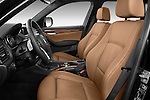 Front seat view of a 2012 Bmw X1 xDrive20d 5 Door Suv 2WD