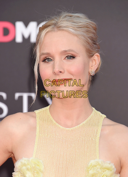 WESTWOOD, CA - JULY 26: Actress Kristen Bell arrives at the premiere of STX Entertainment's 'Bad Moms' at Mann Village Theatre on July 26, 2016 in Westwood, California.<br /> CAP/ROT/TM<br /> &copy;TM/ROT/Capital Pictures