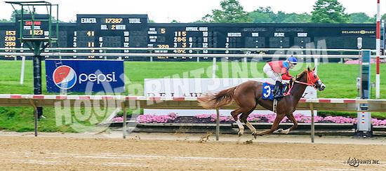 Choice Prospect winning at Delaware Park on 6/16/16