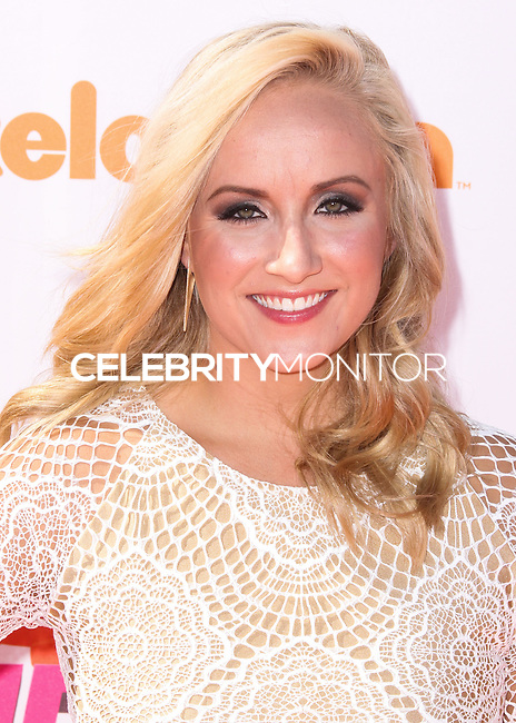 WESTWOOD, LOS ANGELES, CA, USA - JULY 17: Nastia Liukin at the Nickelodeon Kids' Choice Sports Awards 2014 held at UCLA's Pauley Pavilion on July 17, 2014 in Westwood, Los Angeles, California, United States. (Photo by Xavier Collin/Celebrity Monitor)