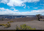 Halemau'mau pit crater, Kilauea summit caldera, Hawaii Volcanoes National Park, Big Island of Hawaii