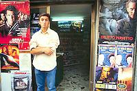 - video store in Corleone (Palermo)....- negozio di videocassette a Corleone (Palermo)