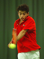 10-3-06, Netherlands, tennis, Rotterdam, National indoor junior tennis championchips,