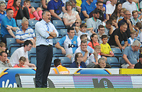 Blackburn Rovers manager Tony Mowbray shouts instructions to his team from the dug-out<br /> <br /> Photographer Kevin Barnes/CameraSport<br /> <br /> The EFL Sky Bet Championship - Blackburn Rovers v Charlton Athletic - Saturday 3rd August 2019 - Ewood Park - Blackburn<br /> <br /> World Copyright © 2019 CameraSport. All rights reserved. 43 Linden Ave. Countesthorpe. Leicester. England. LE8 5PG - Tel: +44 (0) 116 277 4147 - admin@camerasport.com - www.camerasport.com