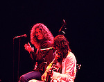 Led Zeppelin  1977 Robert Plant & Jimmy Page........
