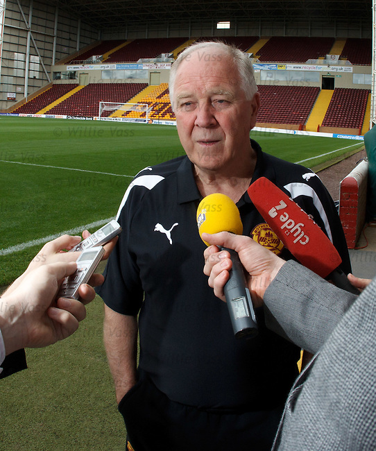 Craig Brown talking ahead of Motherwell's latest Europa League adventure