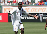 9 June 2007: Eddie Johnson. The United States Men's National Team defeated the National Team of Trinidad & Tobago 2-0 at the Home Depot Center in Carson, California in a first round game in the CONCACAF Gold Cup.
