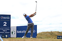 Adrien Saddier (FRA) tees off the 2nd tee during Friday's Round 2 of the 2018 Dubai Duty Free Irish Open, held at Ballyliffin Golf Club, Ireland. 6th July 2018.<br /> Picture: Eoin Clarke | Golffile<br /> <br /> <br /> All photos usage must carry mandatory copyright credit (&copy; Golffile | Eoin Clarke)