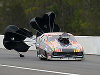 Mar 17, 2019; Gainesville, FL, USA; NHRA pro mod driver Mike Janis during the Gatornationals at Gainesville Raceway. Mandatory Credit: Mark J. Rebilas-USA TODAY Sports