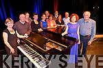 Mary Deady ' The Irish Lark' originally from Abbeydorney, now living in New york returns to Tralee to perform in Siamsa Tire on Friday here with Former members of Siamsa. Pictured  Front  Mary Deady, Sean Ahern Back l-r  Phil Daly, David Hegarty, Catherine Moynihan, Catherine Spangler, Blathnaid Coakley, Patricia Nolan, Brid Murphy, Frankie O'Shea, Sharon Feelan, Mike O'Shea.