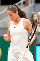 Russian Daria Kasatkina during Mutua Madrid Open 2018 at Caja Magica in Madrid, Spain. May 09, 2018. (ALTERPHOTOS/Borja B.Hojas) /NortePhoto NORTEPHOTOMEXICO