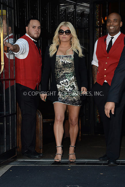 www.acepixs.com<br /> August 9, 2017 New York City<br /> <br /> Jessica Simpson was seen in New York City on August 9, 2017.<br /> <br /> Credit: Kristin Callahan/ACE Pictures<br /> <br /> Tel: 646 769 0430<br /> Email: info@acepixs.com