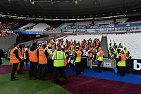 Stewards at the London Stadium during West Ham United vs Manchester City, Premier League Football at The London Stadium on 10th August 2019