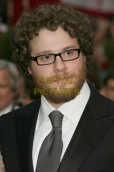 SETH ROGEN .The 80th Annual Academy Awards Arrivals held at the Kodak Theatre, Hollywood, California, USA,.24 February 2008..oscars portrait headshot glasses.CAP/ADM/RE.?Russ Elliot/Admedia/Capital Pictures