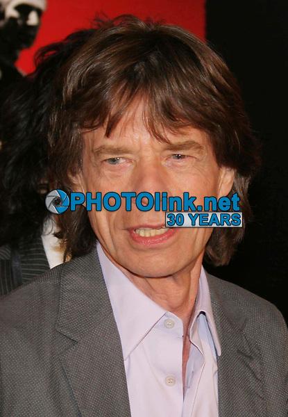 Mick Jagger 3-30-2008<br /> Photo By John Barrett/PHOTOlink.net