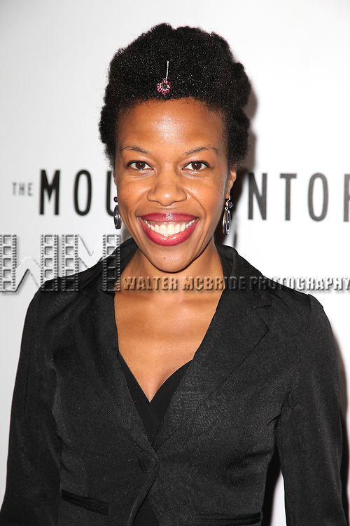 Nilaja Sun.attending the Opening Night Performance of 'The Mountaintop' at the Bernhard B.  Jacobs Theatre in New York City.