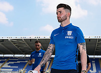 Preston North End's Sean Maguire pictured before the match <br /> <br /> Photographer Andrew Kearns/CameraSport<br /> <br /> The EFL Sky Bet Championship - Reading v Preston North End - Saturday 30th March 2019 - Madejski Stadium - Reading<br /> <br /> World Copyright © 2019 CameraSport. All rights reserved. 43 Linden Ave. Countesthorpe. Leicester. England. LE8 5PG - Tel: +44 (0) 116 277 4147 - admin@camerasport.com - www.camerasport.com