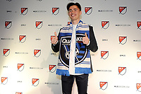 Philadelphia, PA - Thursday January 19, 2018: Paul Marie during the 2018 MLS SuperDraft at the Pennsylvania Convention Center.