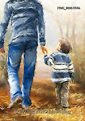Marcello, MASCULIN, MÄNNLICH, MASCULINO, paintings+++++,ITMCEDM1066A,#M# father,son ,everyday