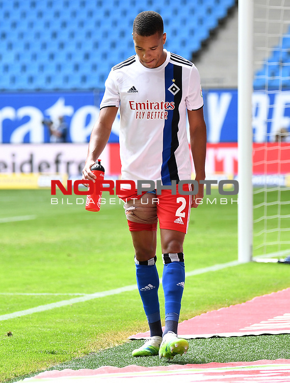 Verletzung, Jan Gyamerah (HSV)<br />Hamburg, 28.06.2020, Fussball 2. Bundesliga, Hamburger SV - SV Sandhausen<br />Foto: Tim Groothuis/Witters/Pool//via nordphoto<br /> DFL REGULATIONS PROHIBIT ANY USE OF PHOTOGRAPHS AS IMAGE SEQUENCES AND OR QUASI VIDEO<br />EDITORIAL USE ONLY<br />NATIONAL AND INTERNATIONAL NEWS AGENCIES OUT