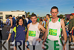 Before the marathon in Dingle Saturday morning at 8.30am were Veronica Colleran, Ennis. Sean O? Cathalla?in, Comeen and Martin O? Hallurain An Daingean.