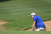Anthony Wall (ENG) on the 17th during Round 1 of the ISPS HANDA Perth International at the Lake Karrinyup Country Club on Thursday 23rd October 2014.<br /> Picture:  Thos Caffrey / www.golffile.ie
